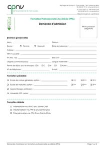 thumbnail of CPNV – Demande d'admission FPA