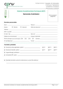 thumbnail of CPNV – Demande d'admission MCT