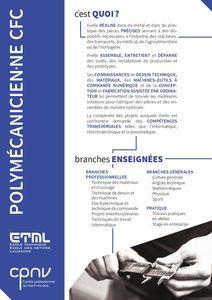 thumbnail of CPNV-ETML – CFC polymécanicien