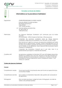 thumbnail of CPNV – Informations procédure admission EM