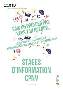 thumbnail of CPNV – flyer stage d'information