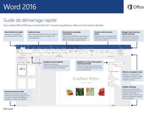 thumbnail of WORD 2016 QUICK START GUIDE
